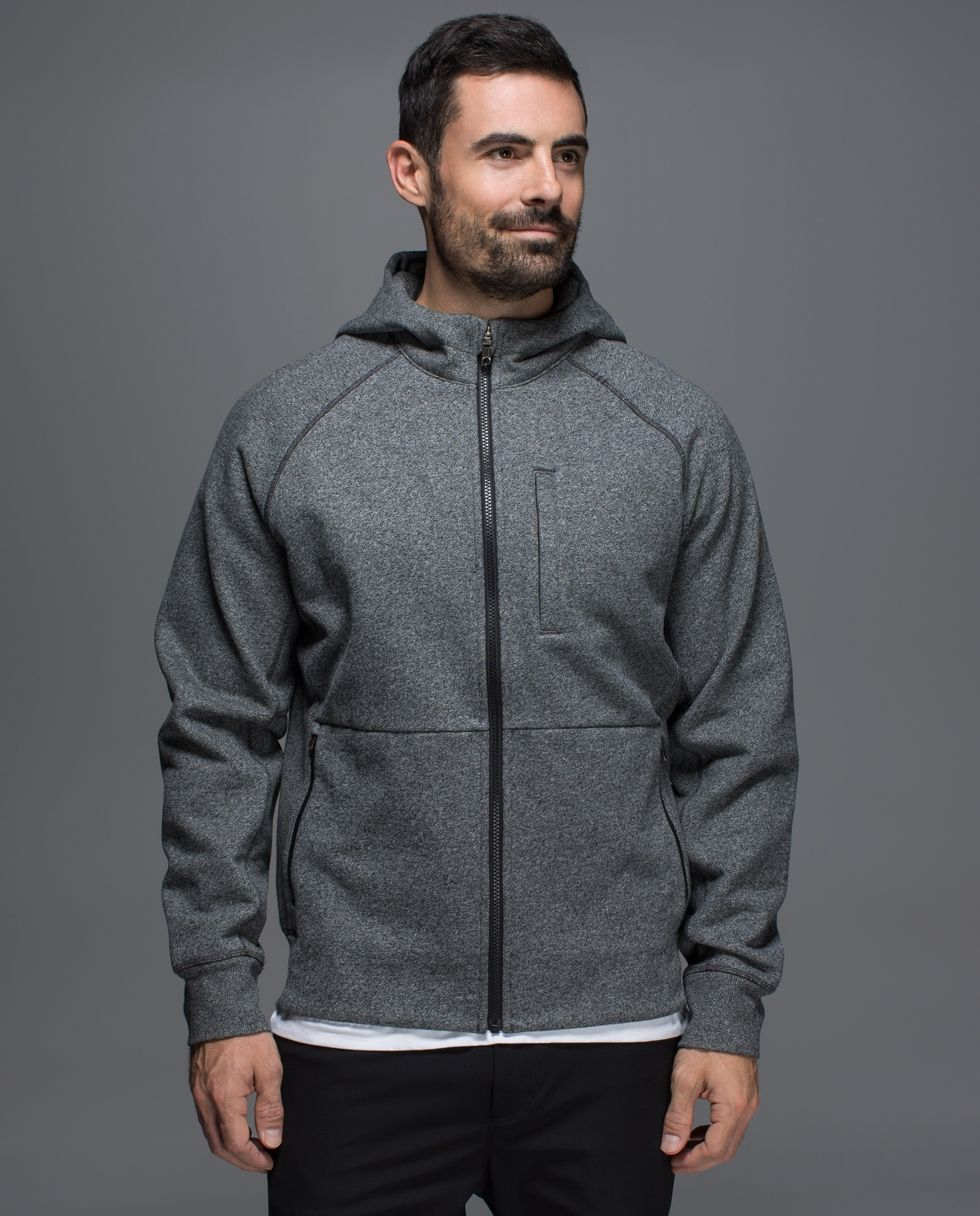 cheaper 5f5a5 85166 Lululemon Best Coast hoodie, heather speckled black, size small,  118