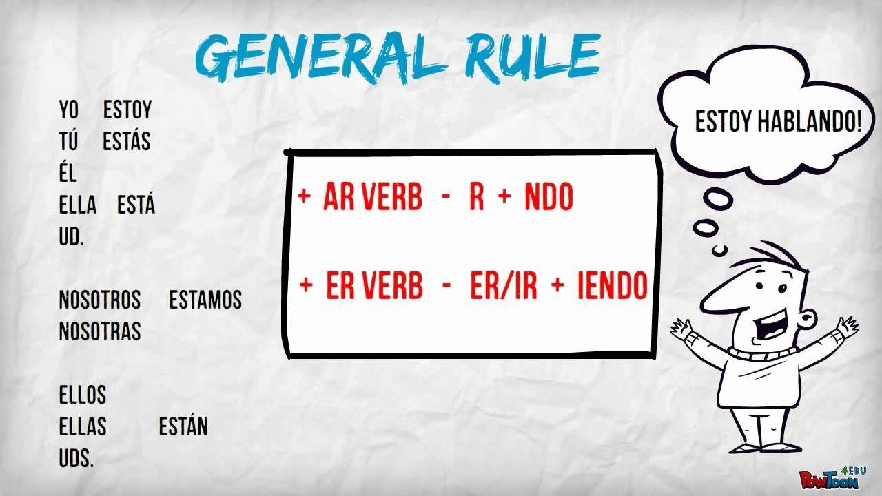 Present Progressive And Reflexive Verbs In Spanish Spanish Verbs Spanish Lessons Spanish [ 720 x 1280 Pixel ]