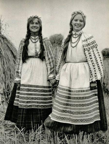 белорусский сарафан