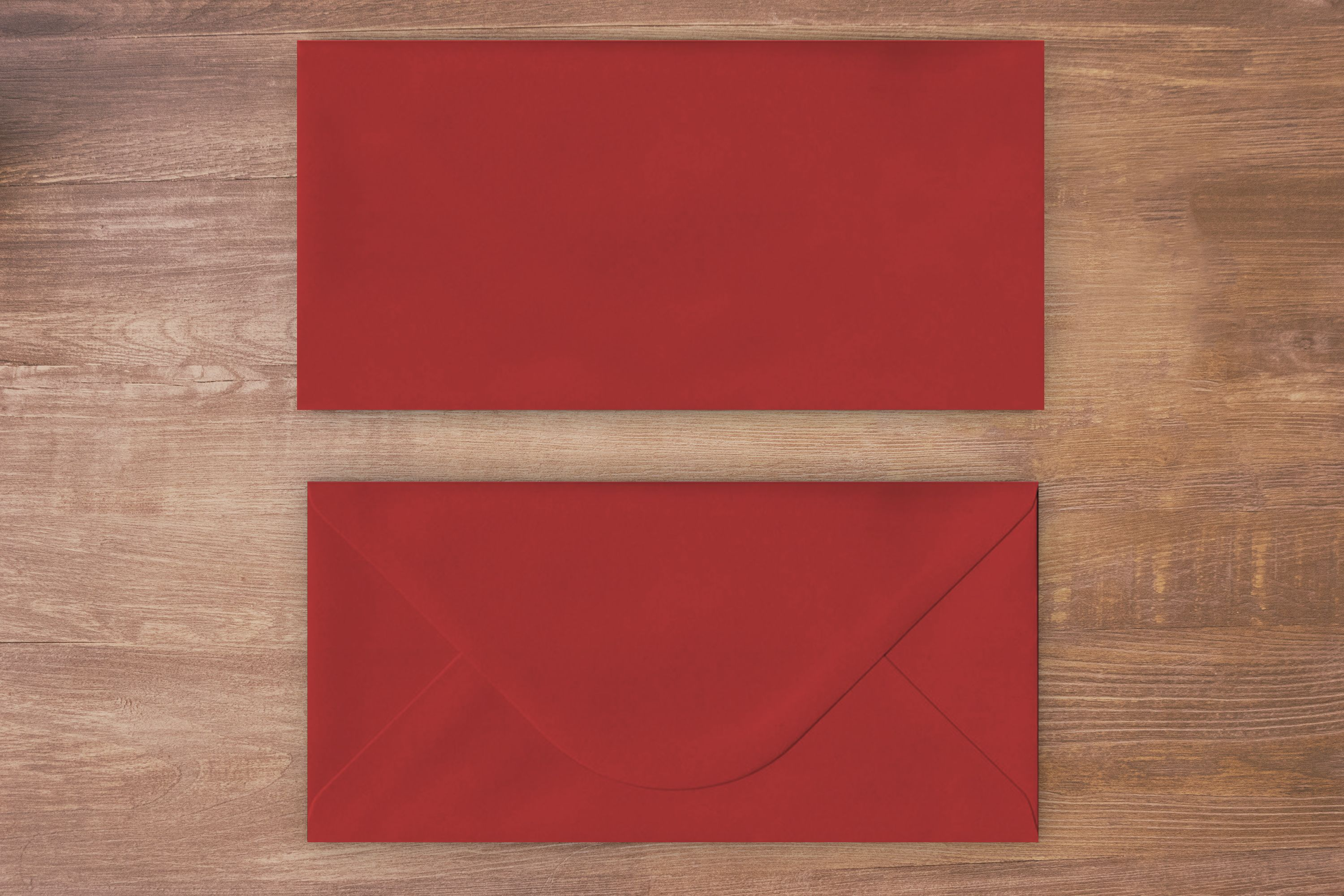 Red Invitation Style DL Envelope 100GSM Essential Addition to an ...