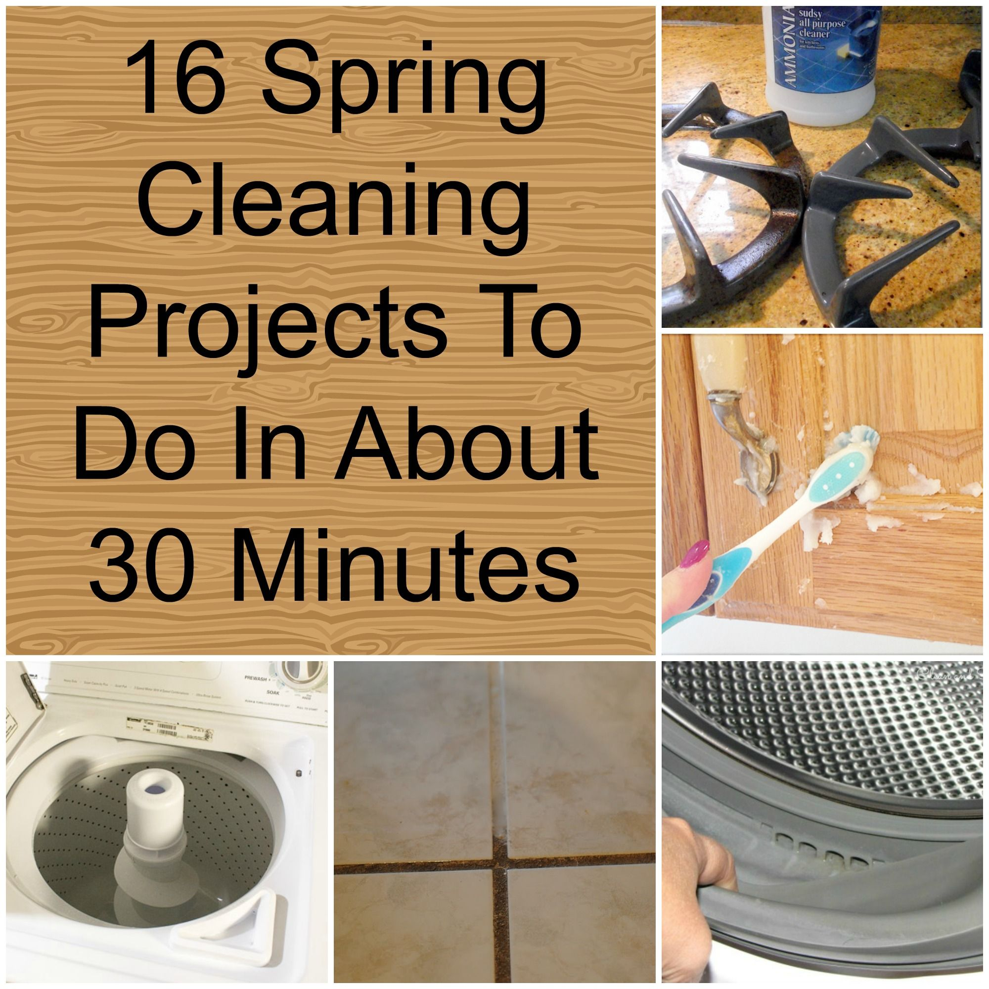 cleaning spring projects