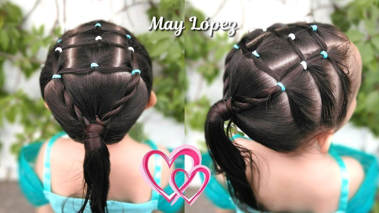 20 Peinados de ninas con ligas sencillos