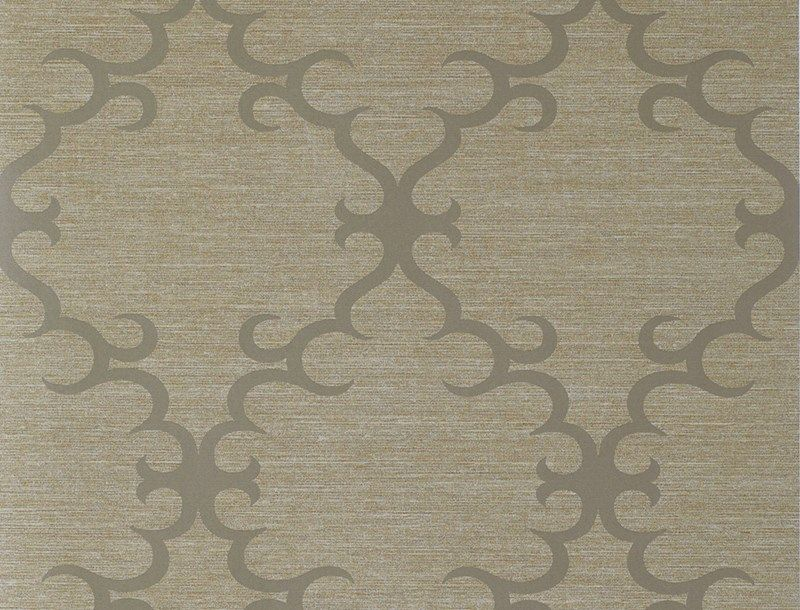 The new Crescent wallcovering from Jim Thompson Fabrics. #wallpaper #pattern #design #Interiordesign