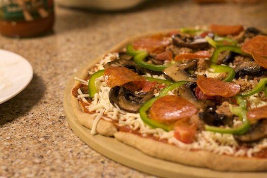 Honey-Wheat Pizza Dough from the California Pizza Kitchen (but I\u0027m