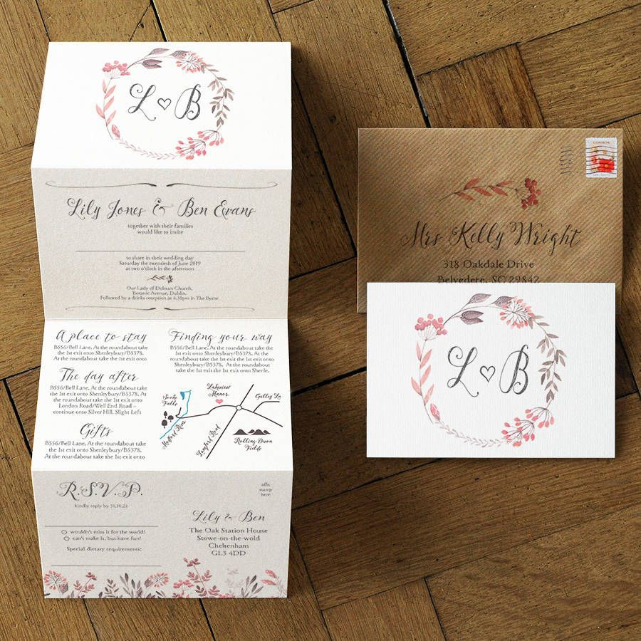 Are you interested in our folding wedding invitation? With our ...
