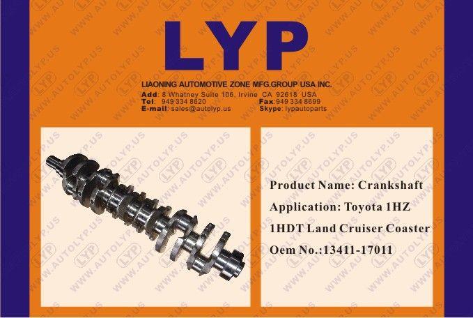 Crankshaft: Toyota 1HZ 1HDT Land Cruiser Coaster OEM no : 13411