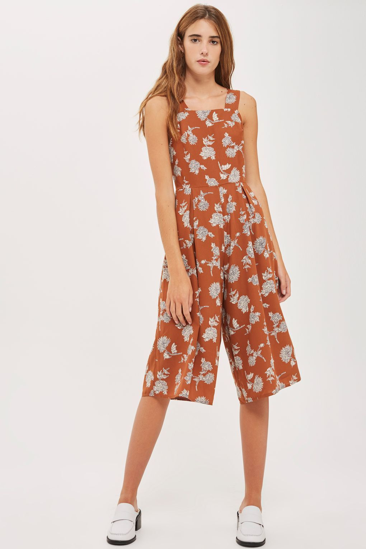 #mode #ootd #outfit #fashion #style #online   #Damen **Träger-Jumpsuit von Love – Orange |