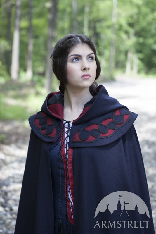 Woolen Medieval Cloak for SCA and Reenactment