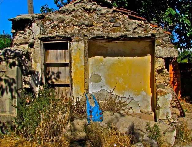 Landmarks and Buildings in Bodrum, Turkey (piece decay bag) - a photo by ESRA SIRMAN