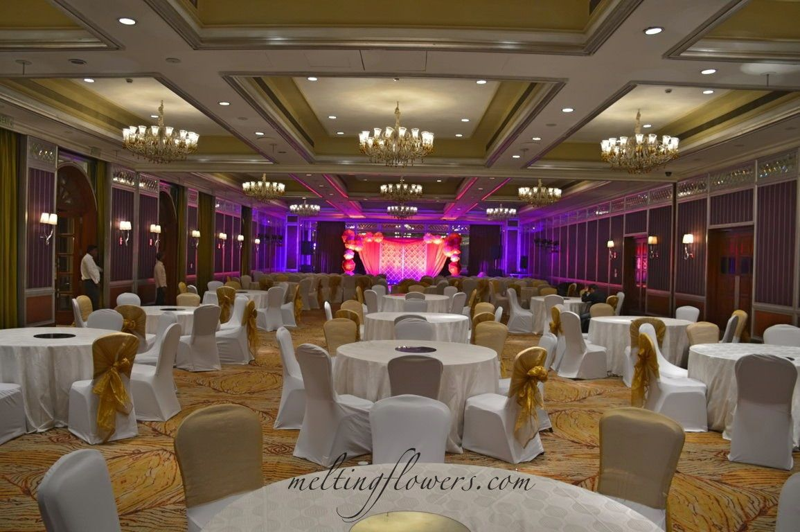 The Taj West End Hotel Banquet Halls In Bangalore Decorated For