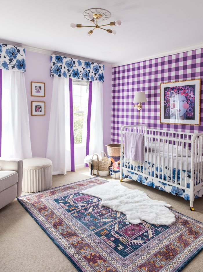 Bright + Bold Baby Girl Nursery Reveal | Nursery Design, Nursery And Bright