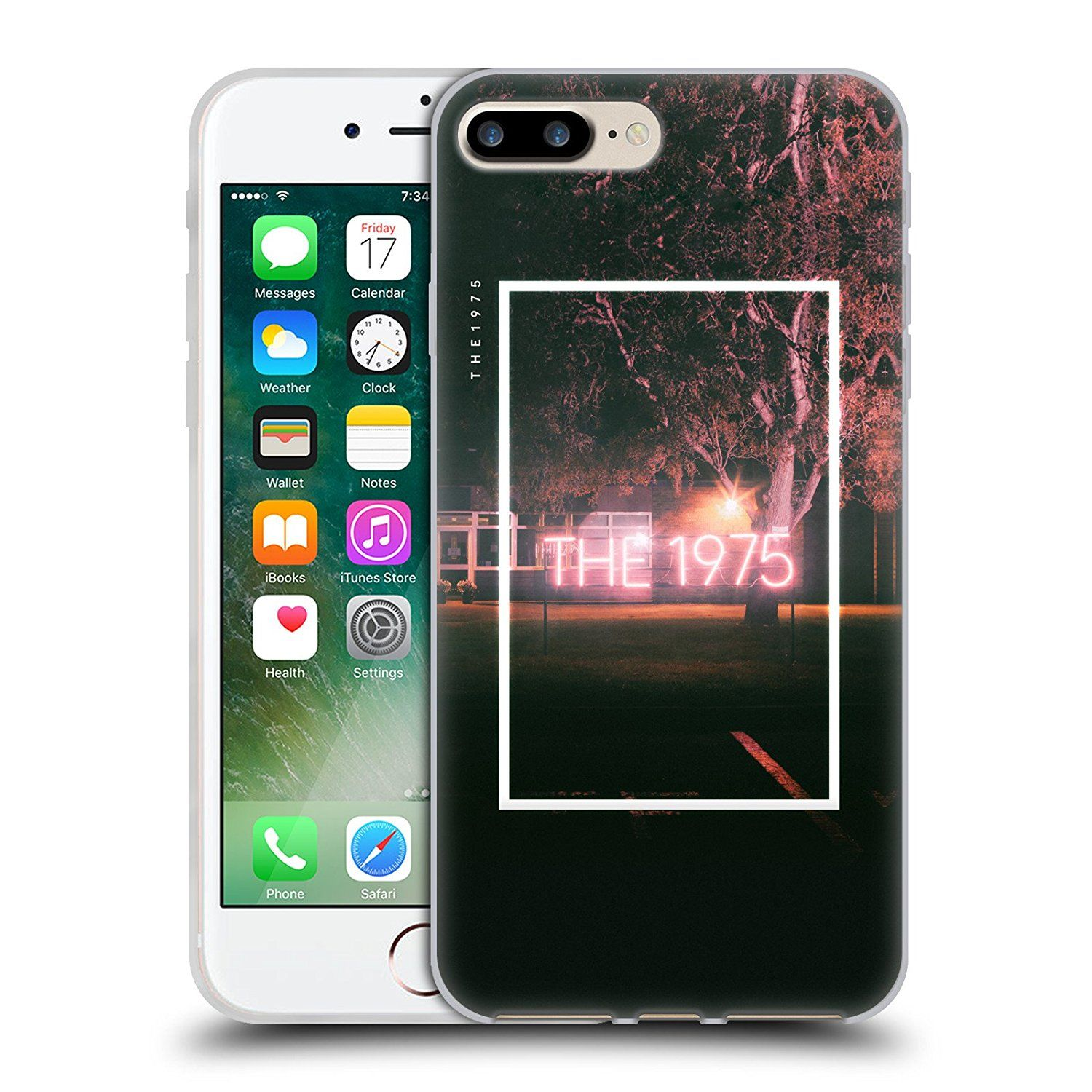 Official The 1975 Neon Sign Logo Songs Soft Gel Case for