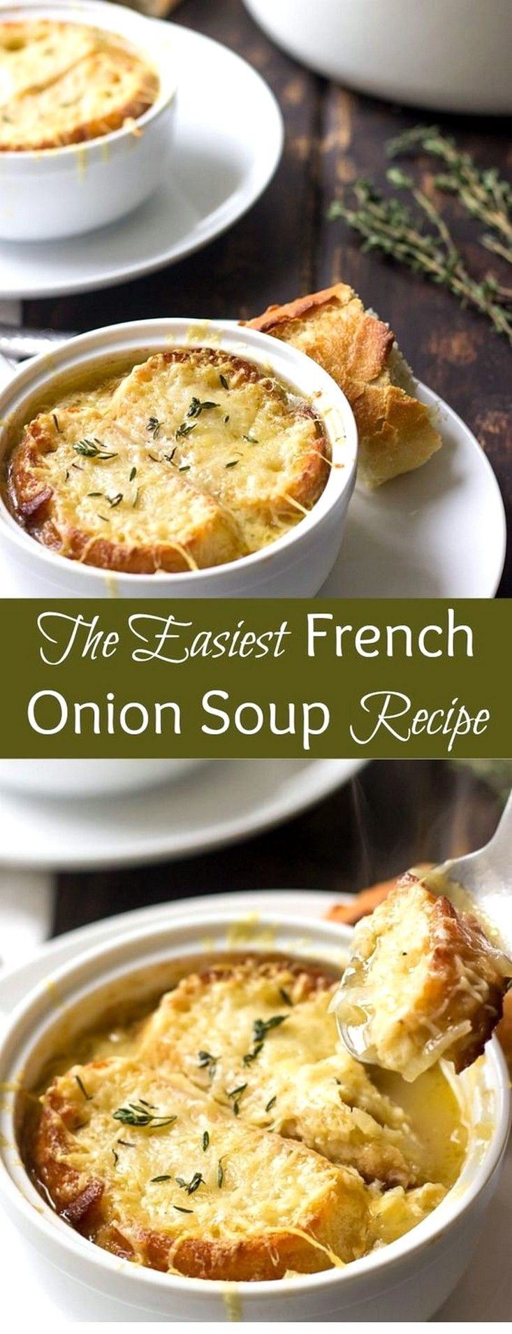 Easy French Onion Soup Recipe Recipe French Onion Soup Easy Easy French Onion Soup Recipe Onion Soup Recipes