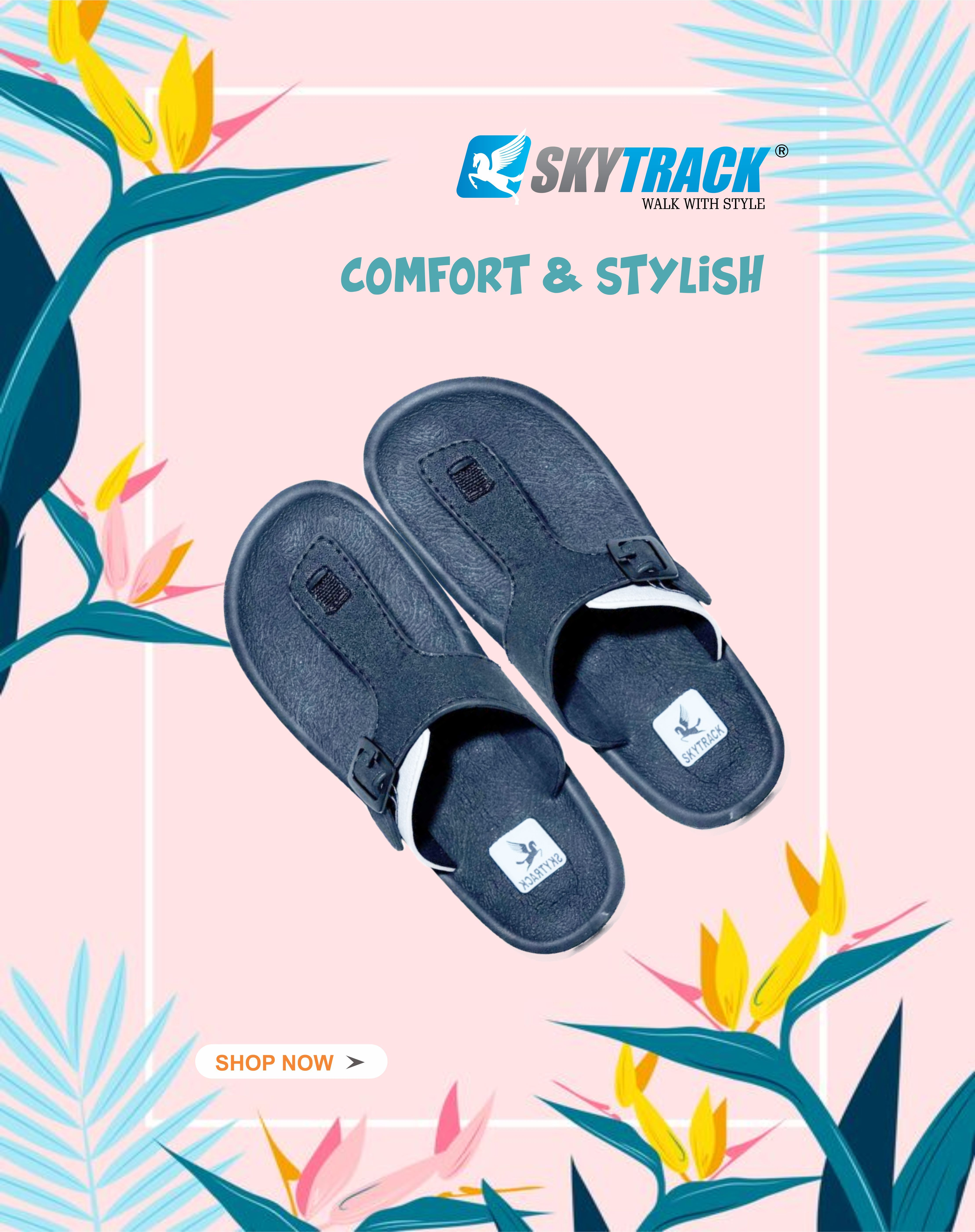 Stride In Comfort All Day And Night In Our Skytrack Flip