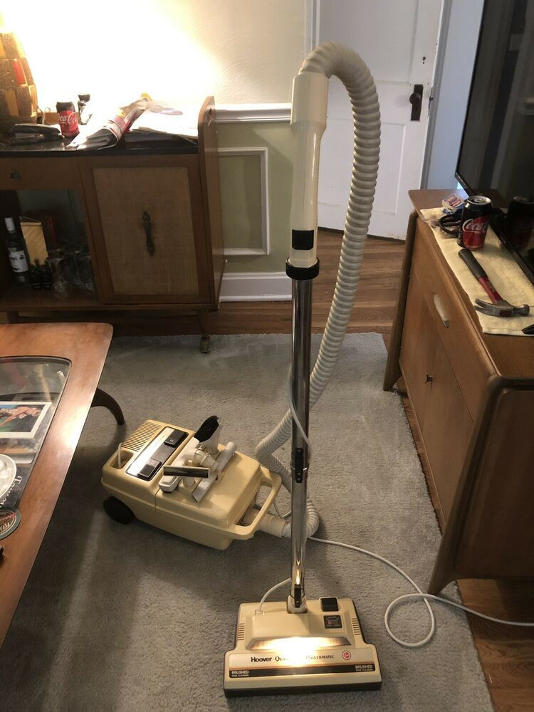 Vintage Kmart Exclusive Tol Hoover Spirit Canister Vacuum Model S3295 031 Hoover Canister Vacuum Eureka Vacuum Portable Vacuum Cleaner