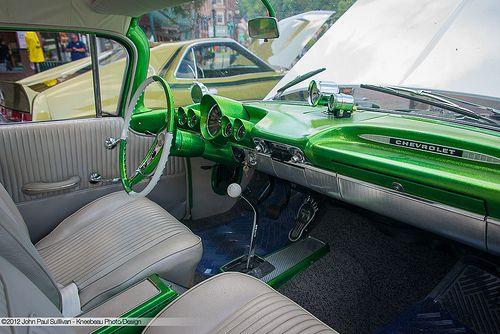 1959 Chevrolet El Camino Interior 59 Chevy Impala Chevy Impala