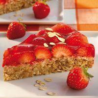 Haferflocken-Erdbeer-Kuchen Rezept | WW Deutschland