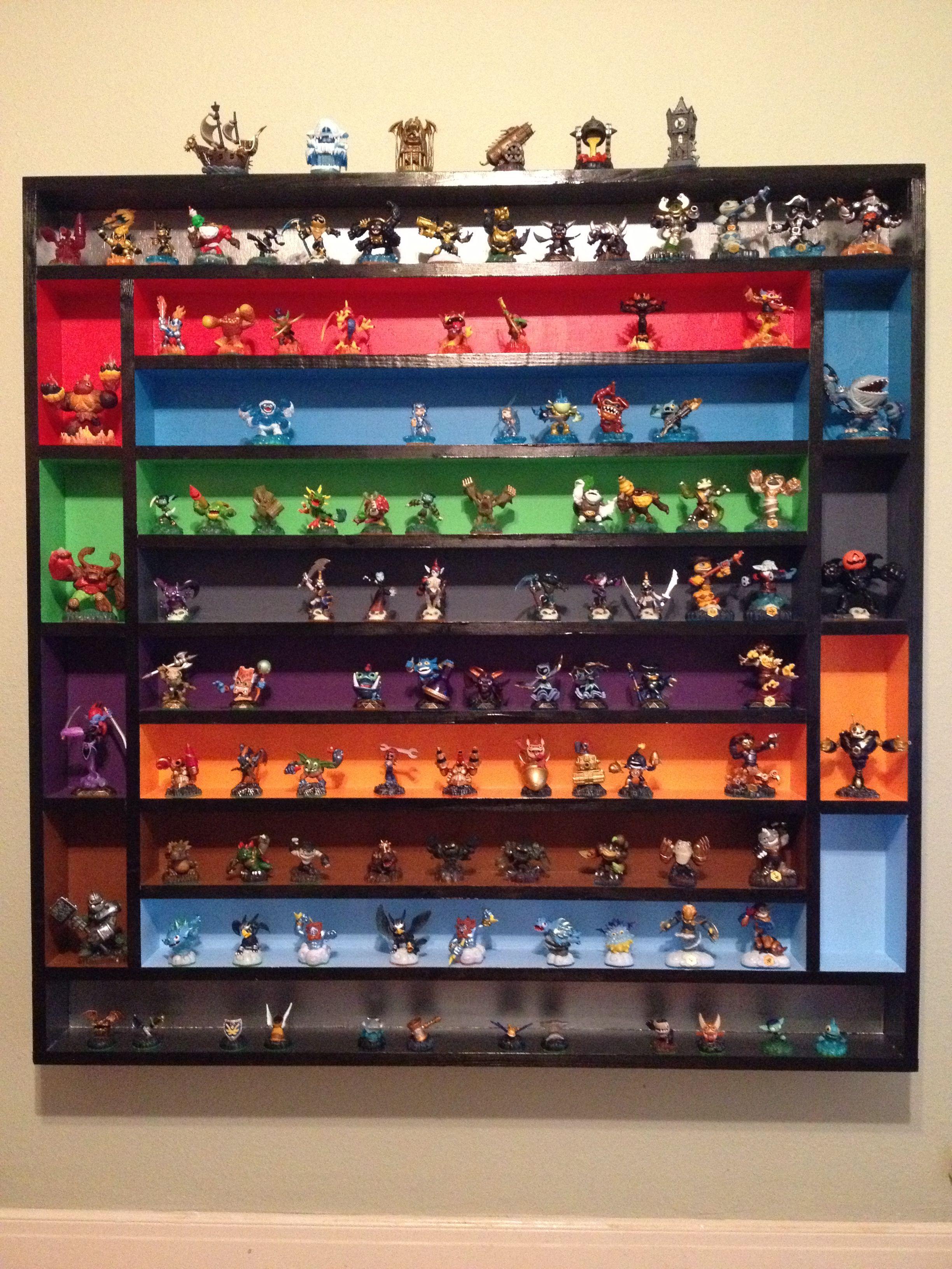 Coolest Skylander Shelf Ever