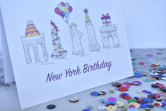 Set Of Ten Hand Illustrated Birthday Cards W Envelopes