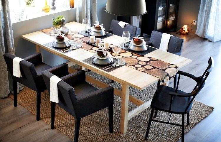 Ikea Esstisch 20 Beispiele In Bester Schwedischer Qualitat Ikea Esstisch Esstisch Grosser Esstisch