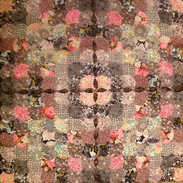 'Spring' a time when little pieces of green and pink peek through the greys of winter #libertylondon #libertyfabric * Real Pattern * The Inner Interiorista
