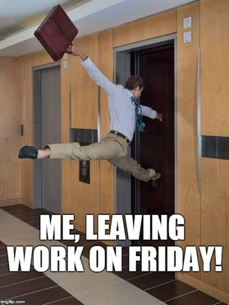 21 Best Friday Memes To Welcome The Weekend Work Quotes Funny Funny School Pictures Work Humor