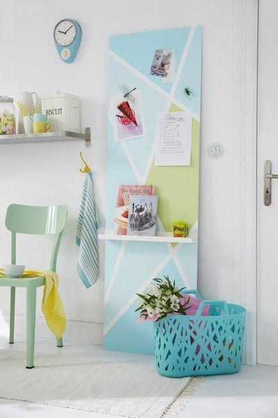 diy academy magnetwand selber machen kinderzimmer w nde magnetwand und magnete. Black Bedroom Furniture Sets. Home Design Ideas