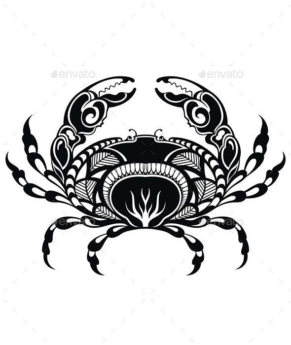 Crab Cancer Tattoos Cancer Sign Tattoos Cancer Zodiac Tattoo