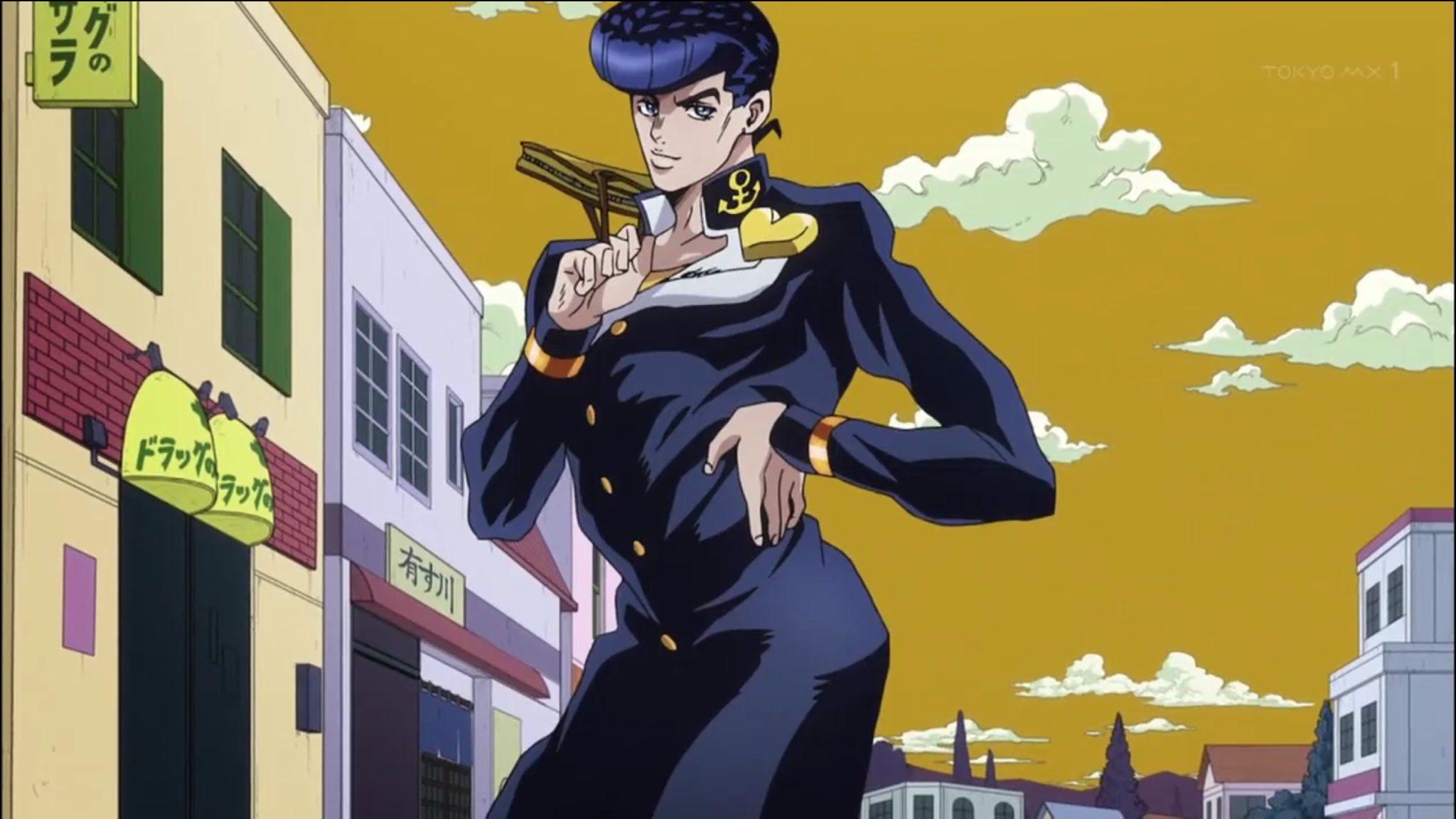Josuke Higashikata Jojo S Bizarre Adventure Anime Jojo S Bizarre Adventure Jojo Bizarre