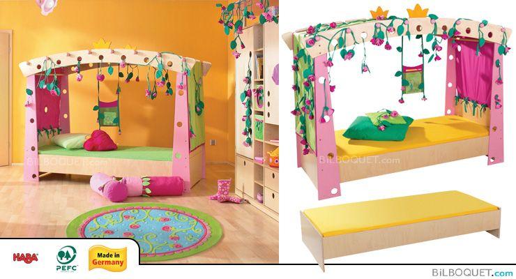 Sleeping Beautyu0027s Bed Haba   Furniture   Childrenu0027s Room And Decoration