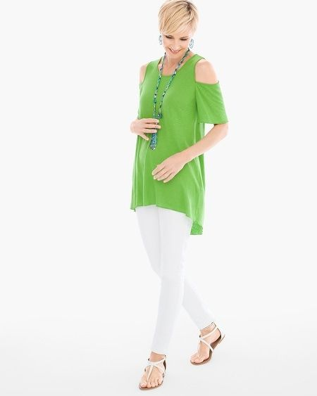 f00af09fcf2 Cold-Shoulder Knit Top | Products | Tunic tops, Tops, Knitting