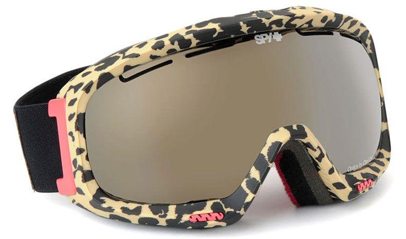 4827022af47 Animal Print Ski Goggles - Amazing! Spy Optic Bias Ski Goggles - Mary Jane    Bronze w Gold Mirror. OMG!!! I need these!!