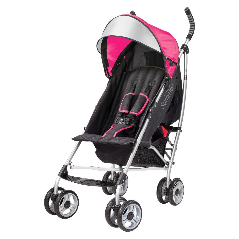 Summer Infant 3D lite Convenience Stroller Pink
