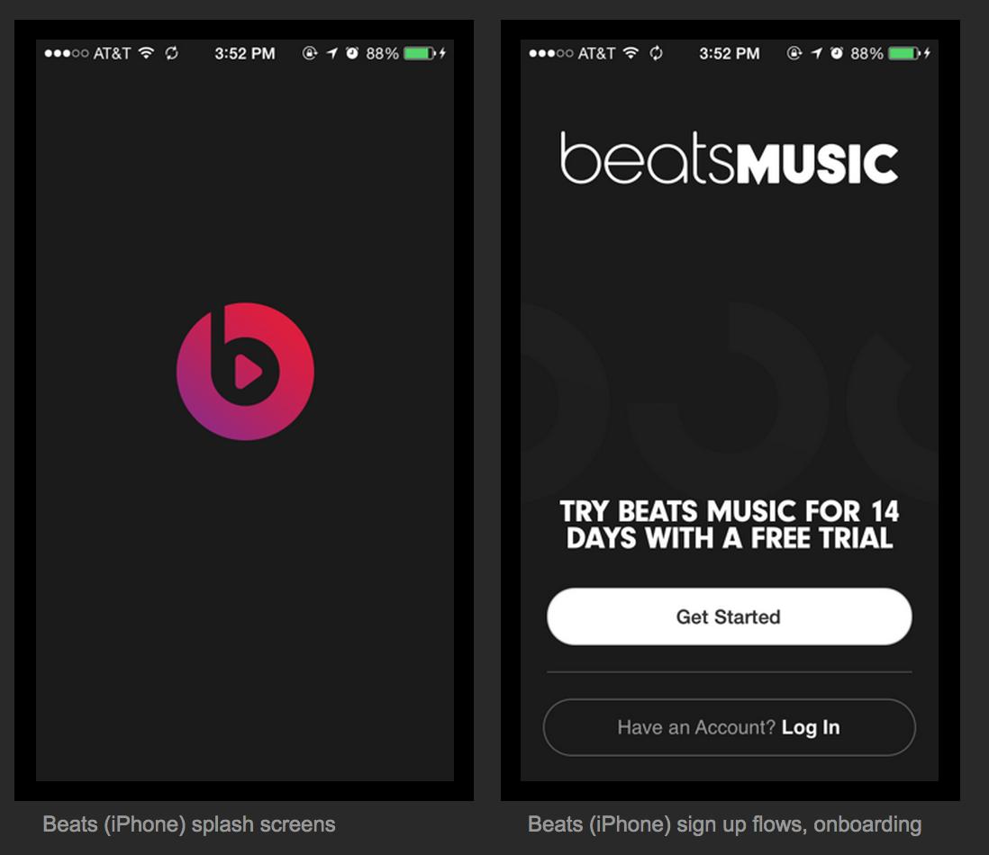 beat+musicだからこのアイコン。しっくりきますね。 Splash screen, Iphone icon
