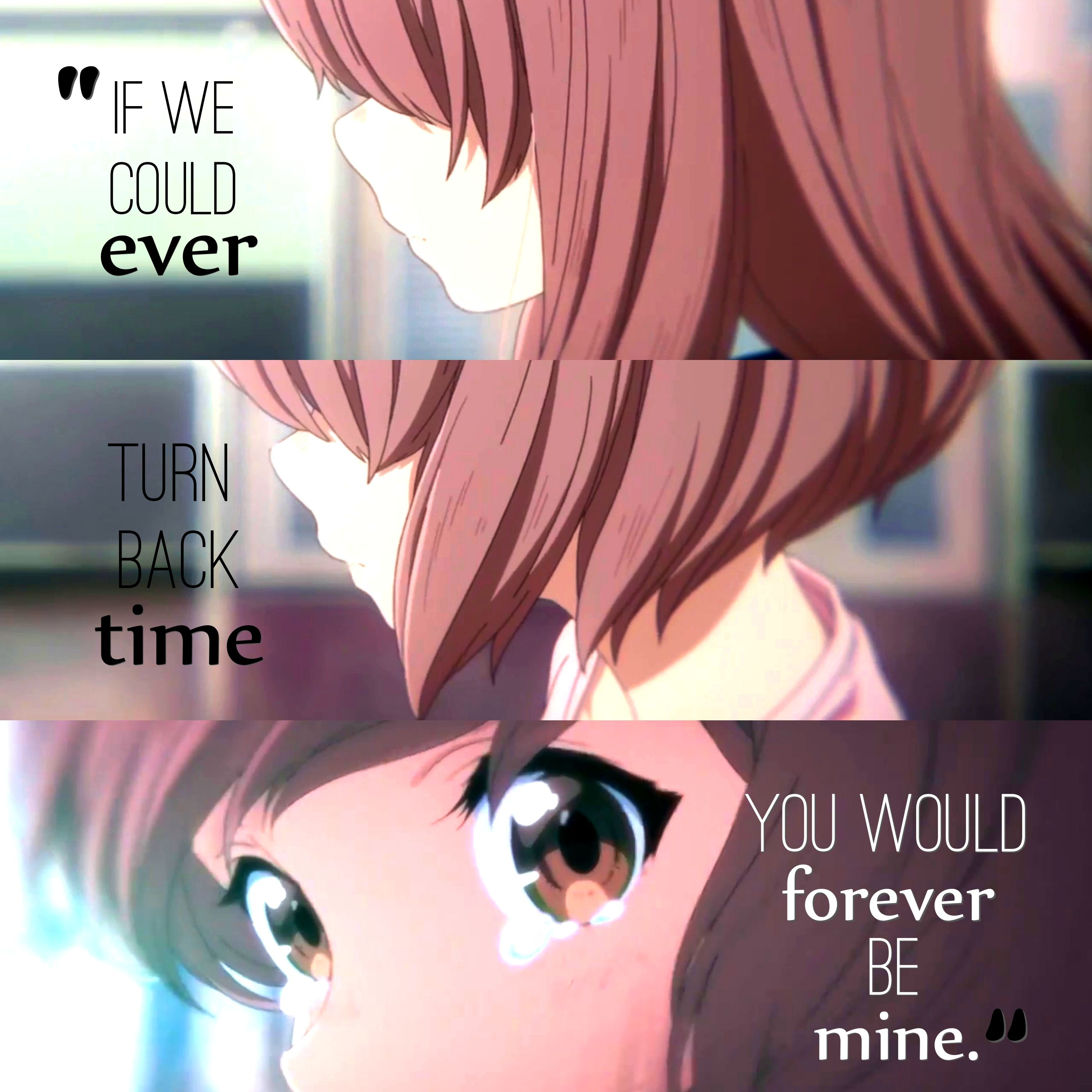 A Silent Voice Anime love quotes, Anime quotes, Anime qoutes