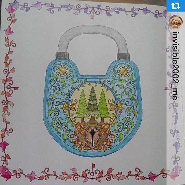 Johanna Basford Coloring Books Locks