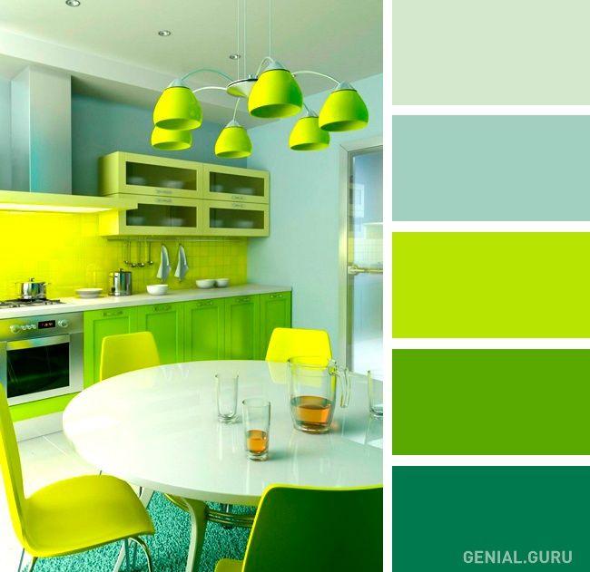 20 Perfectas combinaciones de colores para tu cocina | Buenas ideas ...