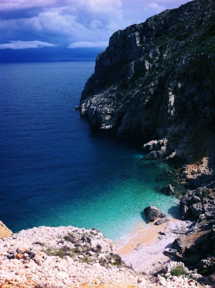 Orlec Beach Island Of Cres Croatia Croatia Holiday Croatia Beach Croatian Islands