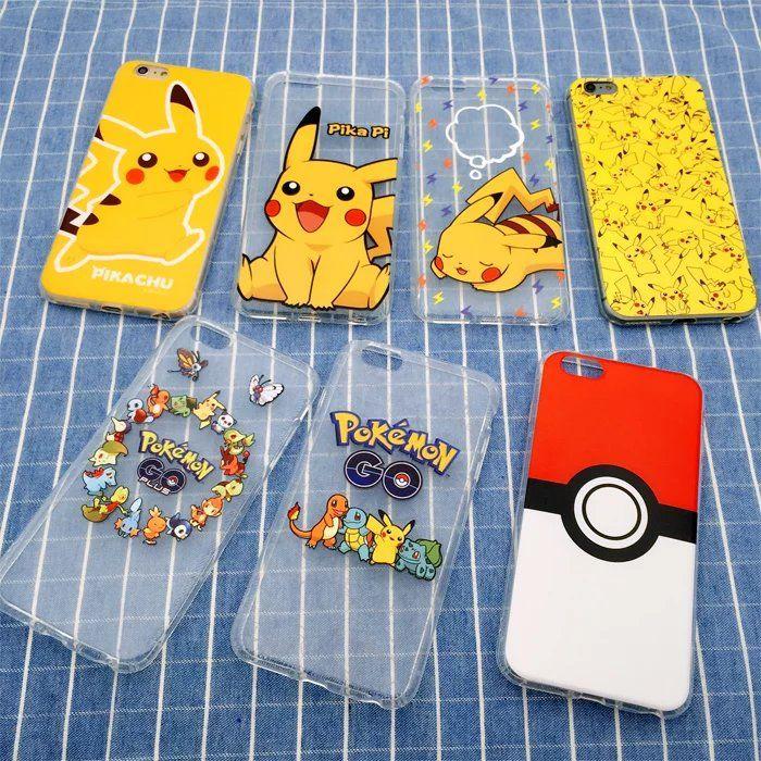 Pokemon Pikachu Transparent Clear Case