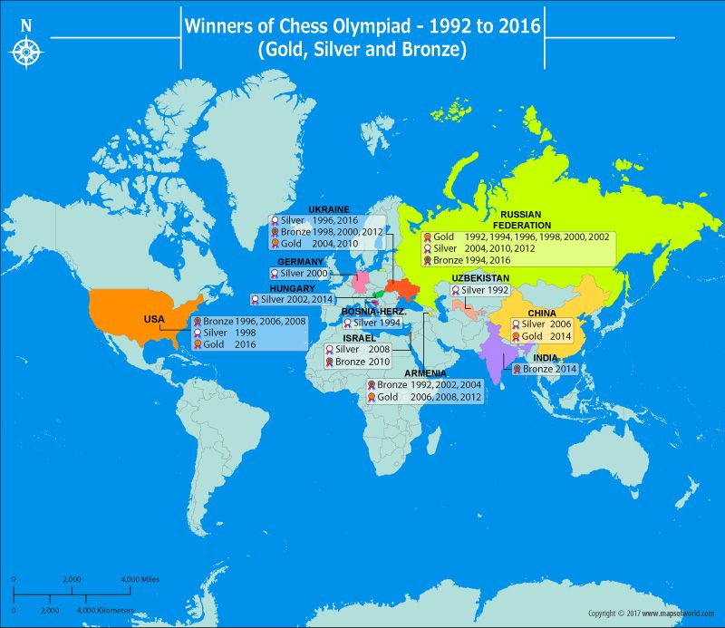 Chess olympiad medal winners from 1992 2016 chess chess is a sport that originated in ancient india played during the age of the world mapsthe gumiabroncs Choice Image