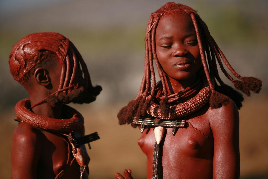 Himba nude men and women