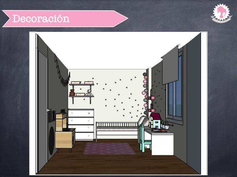Proyecto de kidsmopolitan habitaci n ni a de dos a os - Muebles habitacion nina ...