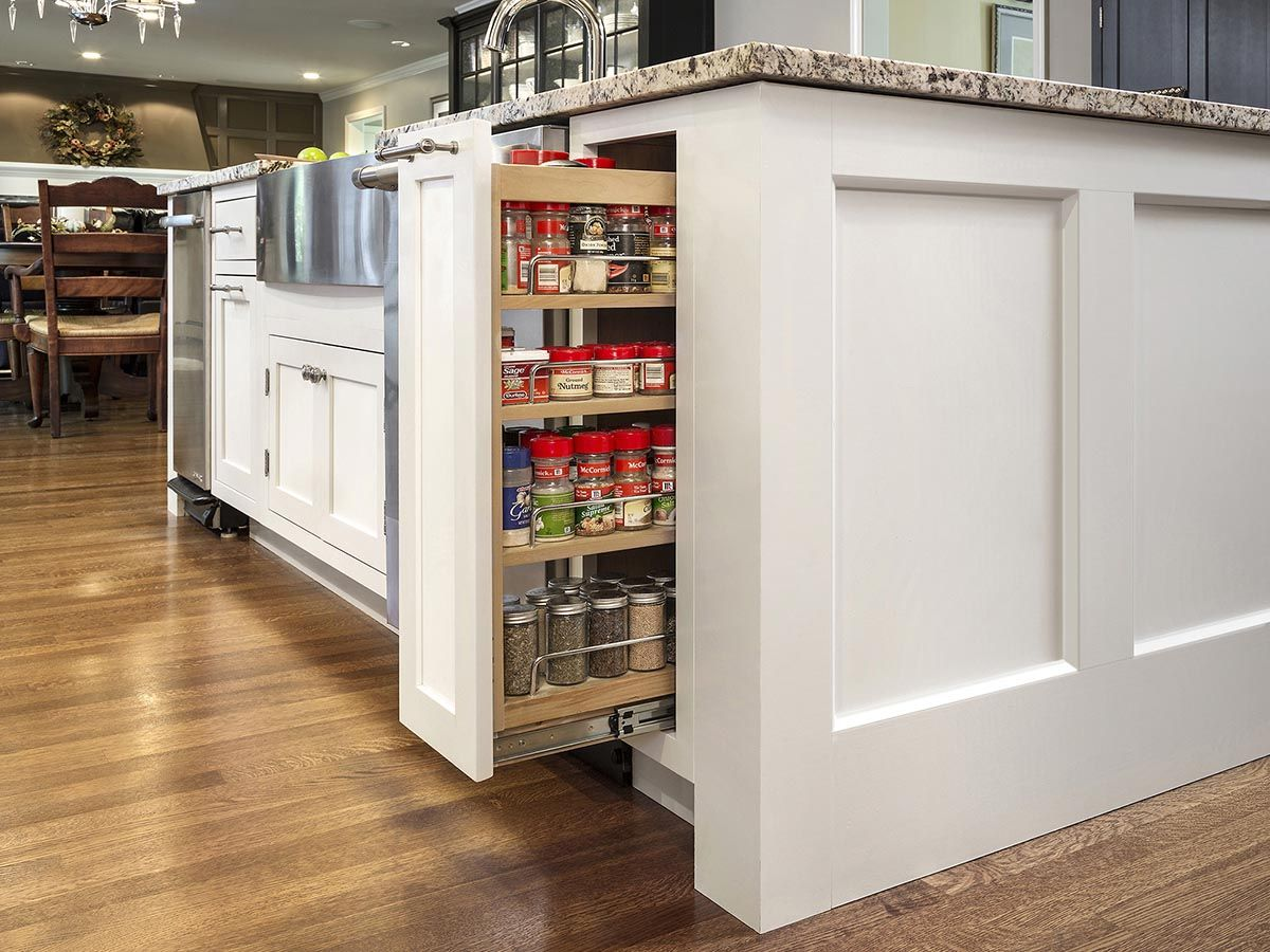 Kitchen remodeling project features CliqStudios com inset cabinets in the  Austin cabinet style in a. Kitchen remodeling project features CliqStudios com inset cabinets