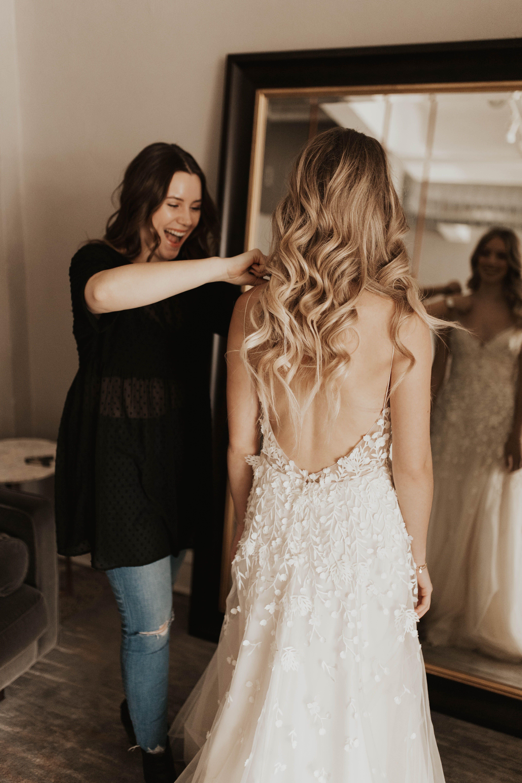 Iris By Alexandra Grecco Available At Minneapolis Portland A Be Bridal Shops Light Untraditional Wedding Dress Wedding Dresses Minimalist Wedding Dresses,Second Wedding Wedding Dress Mature Bride