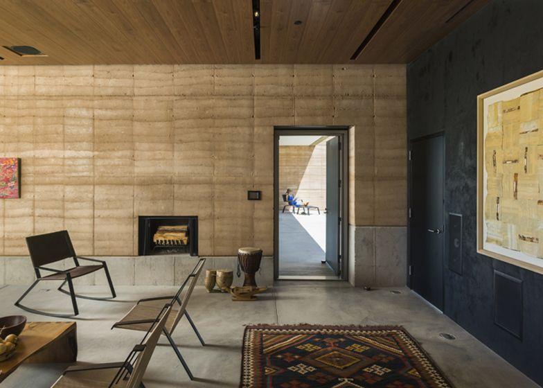 Tucson Mountain Retreat By Dust Rammed Earth Homes Rammed Earth Wall Earth Homes