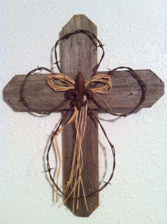 Rustic Wood Cross