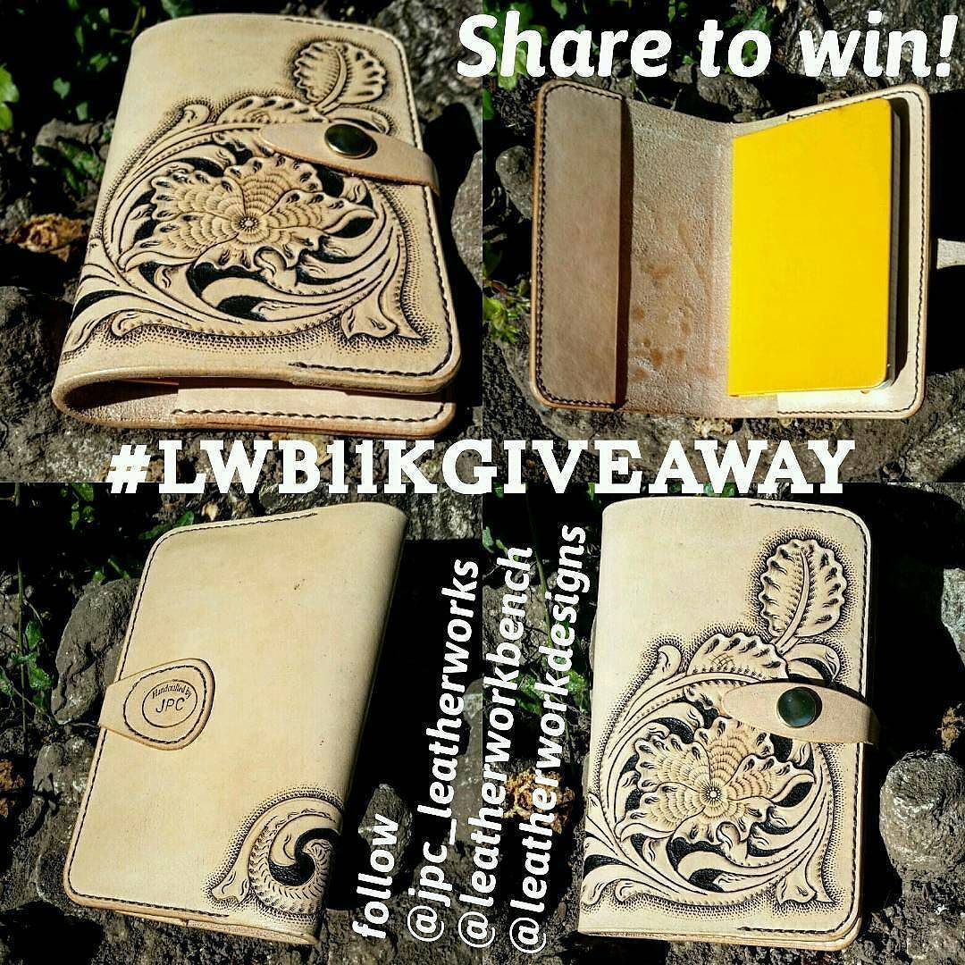 Repost from leatherworkbench It's giveaway time! I have