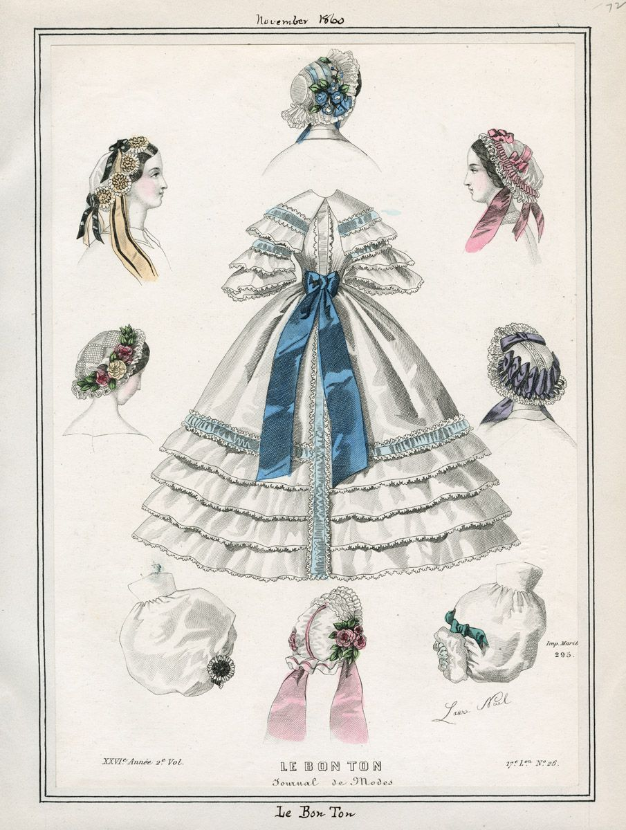 LAPL, Le Bon Ton, November 1860