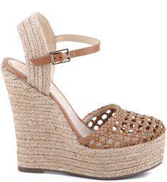 7f1f0d85fe Espadrille Platform Treliça Bamboo Sapatos Schutz, Anabela, Calças Femininas,  Sapatos Femininos, Sapatilhas