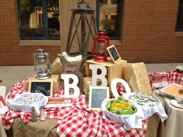 Amphora Catering Bbq Setup Event Design Pinterest